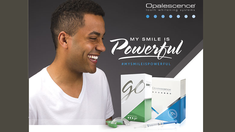 My smile is powerful! Nieuwe campagne voor Opalescence®-bleeksystemen