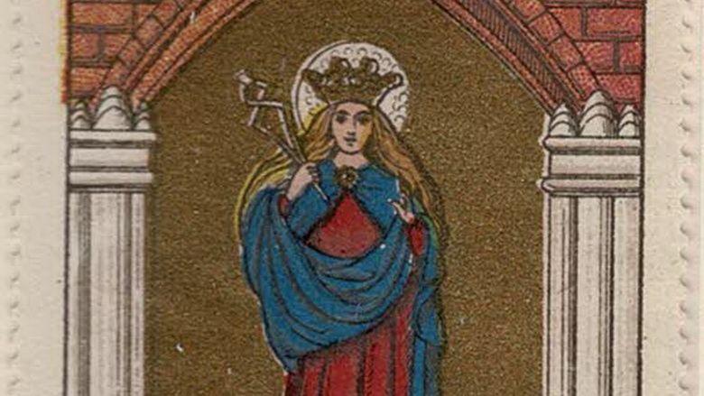 Pilatélie: Sainte Apolline, la «patronne des dentistes»